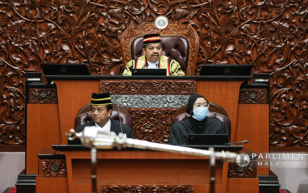 VIGNESWARAN PRESIDES OVER HIS LAST SENATE…