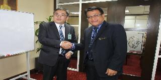 KUNJUNGAN HORMAT DUTA BESAR MONGOLIA KE MALAYSIA KE ATAS KPPM