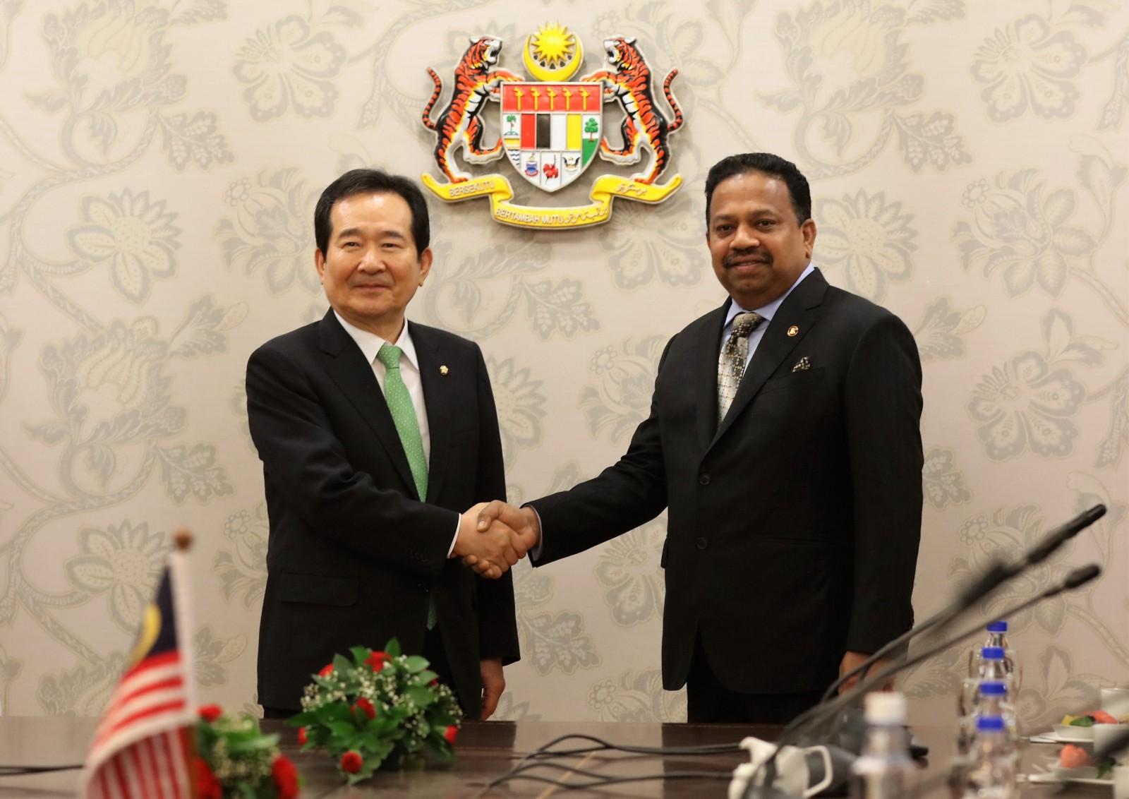 kunjungan-hormat-oleh-speaker-of-the-republic-of-korea-ke-atas-yang-di-pertua-dewan-negara