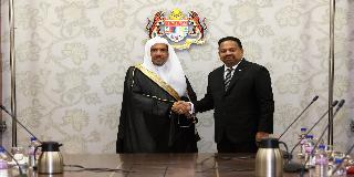 SECRETARY GENERAL OF MUSLIM WORLD LEAGUE KUNJUNGI YANG DI-PERTUA DEWAN NEGARA