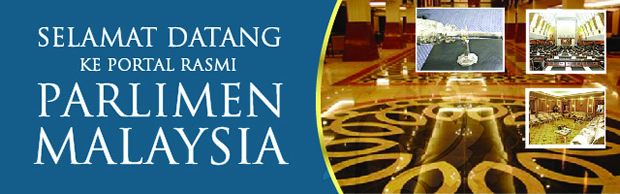 Selamat Datang Ke Portal Rasmi Parlimen Malaysia