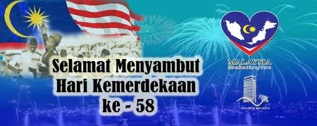 Selamat Hari Kemerdekaan ke 58