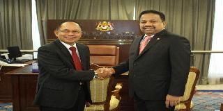 YPDN TERIMA KUNJUNGAN DUTA BESAR REPUBLIK INDONESIA