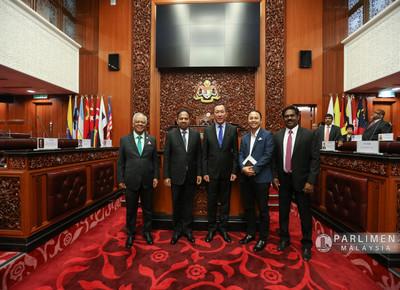 Kunjungan Hormat dari H.E Daniyar Sarekenov - Duta dari Republic of Kazakhstan to Malaysia