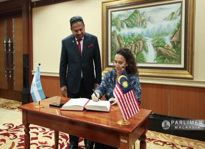 Kunjungan Hormat H.E Marta Gabriela Michetti, Vice President of the Argentine Republic