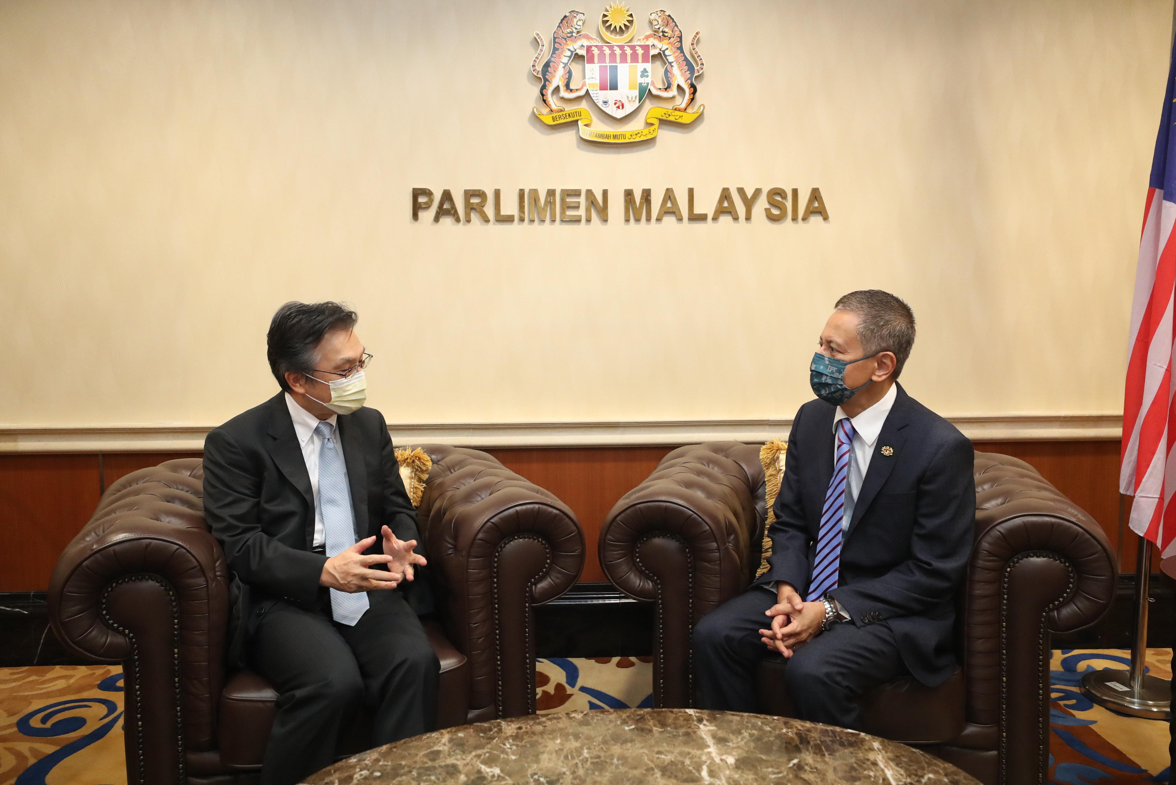 kunjungan-hormat-h-e-hiroshi-oka--duta-besar-jepun-ke-malaysia-keatas-yang-di-pertua-dewan-rakyat